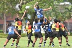 Piala Agong 2017 - NS vs PDRM Stock Photo