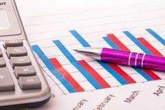Piallatura di Finacial Immagine Stock Libera da Diritti