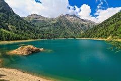 Pian Palu lake - Trentino, Italy Stock Photography