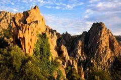 Piana (Corse) Images libres de droits