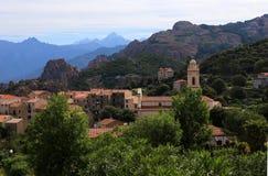 Piana, Corsica obraz royalty free