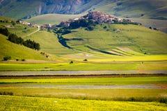 Piana Piccola, Castelluccio di Norcia Stock Image