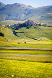Piana Piccola, Castelluccio di Norcia Royalty Free Stock Photos