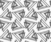 Pianamente grigio con i triangoli royalty illustrazione gratis