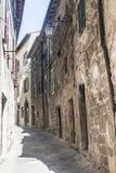 Piancastagnaio (Amiata, Toscana) Fotografía de archivo libre de regalías