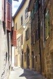 Piancastagnaio (Amiata, Toscanië) Royalty-vrije Stock Afbeeldingen