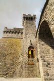 Piancastagnaio (Siena) - Castle Stock Image