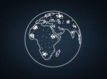 pianeta Fotografia Stock