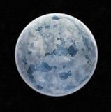 Pianeta blu del ghiaccio illustrazione vettoriale