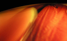 Pianeta caldo del pixel di zona fotografia stock