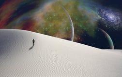 Pianeta del deserto Fotografia Stock Libera da Diritti