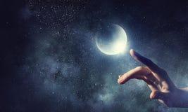 Pianeta della luna disponibile Media misti Immagini Stock