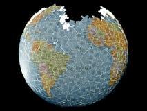 Pianeta della terra di puzzle Immagine Stock