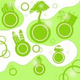 Pianeta di Eco Fotografie Stock Libere da Diritti