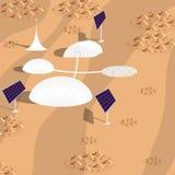 Pianeta di Marte Fotografia Stock Libera da Diritti