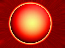 Pianeta rosso illustrazione vettoriale