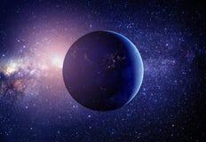 Pianeta Terra dallo spazio Fotografia Stock