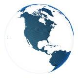 Pianeta Terra di concetto del mondo Fotografia Stock