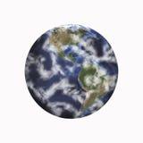 Pianeta Terra isolato fotografia stock libera da diritti