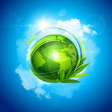 Pianeta verde Immagine Stock Libera da Diritti