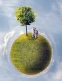 Pianeta verde royalty illustrazione gratis