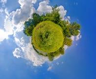 Pianeta verde Immagine Stock