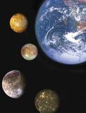 pianeti Fotografia Stock Libera da Diritti