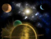 pianeti Immagini Stock Libere da Diritti