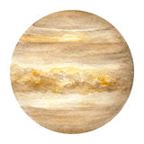 Pianeti del sistema solare - Venere Illustrazione dell'acquerello Immagini Stock