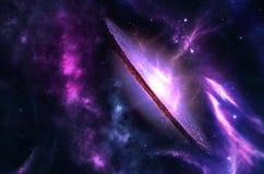 Pianeti, galassia, universo, cielo notturno stellato, galassia della Via Lattea con le stelle e polvere nell'universo, fotografia immagini stock libere da diritti