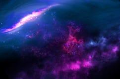 Pianeti, galassia, universo, cielo notturno stellato, galassia della Via Lattea con le stelle e polvere nell'universo, fotografia fotografie stock