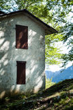 Piani d'Erna议院 免版税库存图片
