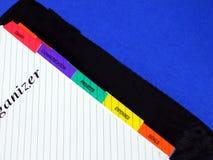 Pianificatore Fotografia Stock