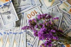 Pianificatore di affari sul diagra di proventi finanziari, del dollaro e di affari immagine stock