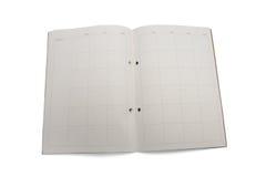 Pianificatore mensile in bianco immagine stock
