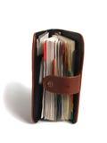 Pianificatore settimanale sopra bianco Fotografie Stock Libere da Diritti