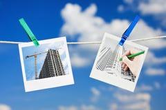 Pianificazione della costruzione Immagine Stock