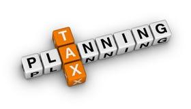 Pianificazione di imposta Immagini Stock