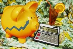 Pianificazione di pensione e di pensionamento Fotografia Stock