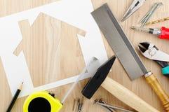 Pianificazione e preparazione domestiche Immagine Stock Libera da Diritti