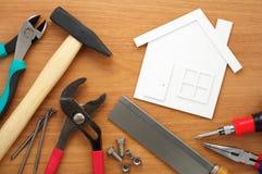 Pianificazione e preparazione domestiche Fotografia Stock