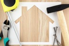 Pianificazione e preparazione domestiche Fotografie Stock
