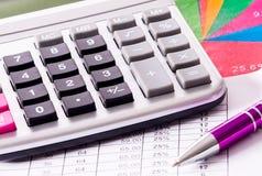 Pianificazione finanziaria Fotografia Stock