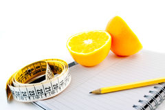 Pianificazione naturale di dieta Fotografia Stock