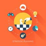 Pianificazione strategica Immagine Stock