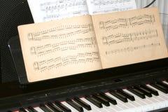 pianino Zdjęcia Stock