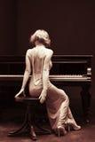 pianino Zdjęcie Stock