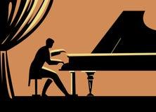 pianino Obrazy Stock
