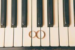 pianino dzwoni ślub Zdjęcie Royalty Free