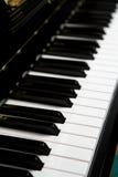 Pianino klucz Zdjęcie Stock